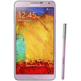 Samsung Galaxy Note 3 with Premium Headset Combo,  pink