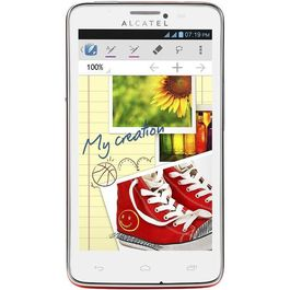 Alcatel One Touch Scribe Easy 8000D,  white