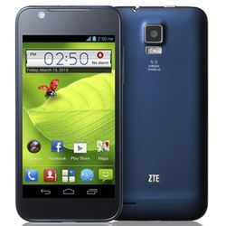ZTE Blade G,  black purple