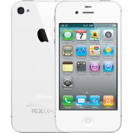 Apple iPhone 4S-16GB, apple-white