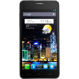 Alcatel One Touch Idol Ultra 6033X, alcatel-black