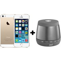 Apple iPhone 5S+ Pair of JAM plus Speaker,  gold, 32 gb