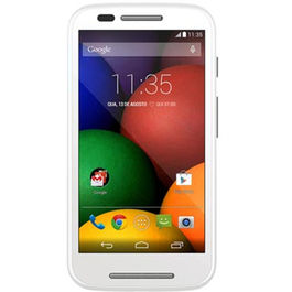 Moto E Unboxed (4 GB),  white