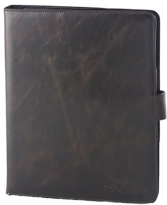 Kooltopp Inox iPad Leather Folio case,  black