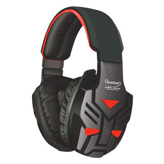 Quantum QHM 855 Over the Ear Wired Headphones with Mic