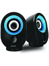 Philips IN-SPA50 Portable Mobile/Tablet Speaker (Blue)