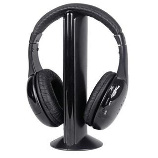 Intex Wireless Roaming Headphone, black
