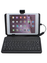 Callmate Keyboard Flip Case For 7 Inch Tablets, black