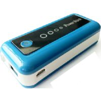 Amtrak PB-4400 mAh power bank,  blue