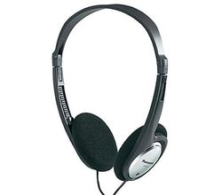 Panasonic RP-HT030E Wired Headphones (Silver)