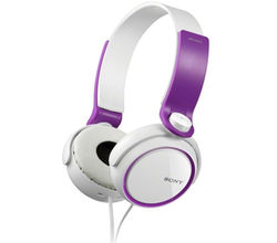 Sony MDR-XB250 Extra Bass Headphones (Violet)
