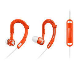 Philips SHQ3305 Action Fit Sports In-Ear Headphones, orange