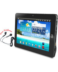 Wespro 10 Inch Android PC Tablet with 3G, 4 gb,  black