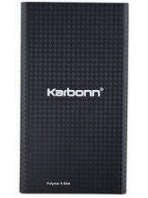 Karbonn Polymer 5 Slim Power Bank 5000 mAh, black