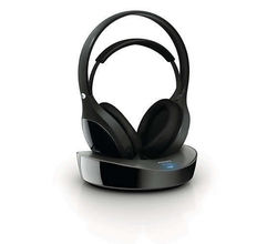 Philips SHD8600UG/10 Over-Ear Wireless HiFi Headphones, black