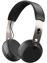Skullcandy S5GBWJ539 Grind Bluetooth Wireless On-Ear Headphones with Built-In Mic and Remote
