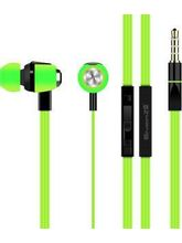 EnerZ Melody Earphones with Mic - Green
