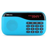 Portronics Plugs Portable Mobile/Tablet Speaker,  blue