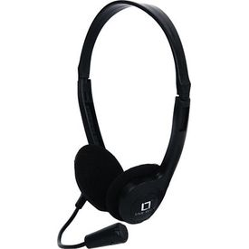 Live Tech HP-01 On-the-ear Headset,  black