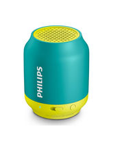 Philips BT50 Wirless Bluetooth Speaker, aqua yellow