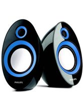 Philips IN-SPA60 Laptop/Desktop Speaker (Blue)