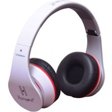 Hangout HO-003 On Ear Wired Headset,  white