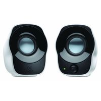 Logitech Z120 2.0 Stereo Speakers, standard-white, 0