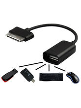 Vizio USB OTG Cable for Samsung Tab, black