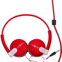 Callmate Headphones Without Mic,  red
