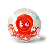 Stop To Shop Bike Bell Octopus,  white