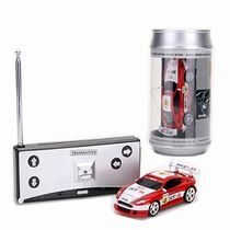 Saffire Mini Coke Can Speed RC Radio Remote Controlled Micro Racing Car, multicolor