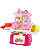 Saffire Cook Happy Kitchen Play Set, multicolor