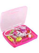 Saffire Doctor Toy Set with Light Sound Effects, pink