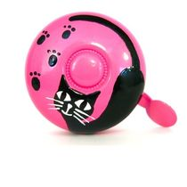 Stop To Shop Bike Bell Cat,  pink