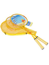 Disney Winnie The Pooh Badminton Racket Set, yellow