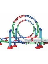 Mitashi Dash Roller Coaster Bullet Train, Multicol...