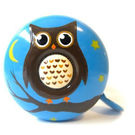 Stop To Shop Bike Bell Owl,  blue