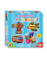 Ekta Create & Paint- Transport, multicolor