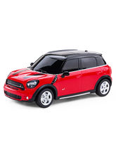 BMW Mini Countryman 1: 24 Remote Control Sports Car, red
