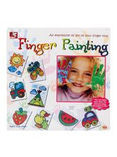 Toy Kraft Finger Painting Kit, multicolor