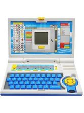 Quinxing Kids English Learner Computer Toy Educational Laptops, multicolor