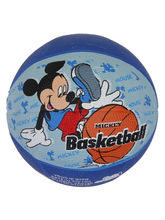 Disney Mickey Rubber Basketball, blue
