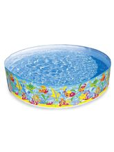 Intex Reef Pool 4 Ft, multicolor