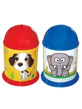 Buddyz Stickerised Coin Bank, multicolor