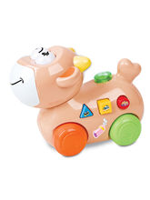 Mitashi SkyKidz Happy Go Lucky Pet Musical Toy-Cow...