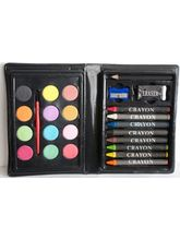 Mitashi Sky Kidz 24 Pcs JR Artist Art Set, multicolor