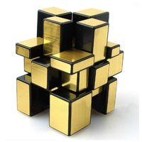 Shengshou Golden Mirror Cube, golden
