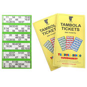 Tambola Tickets With Green Border,  green