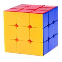 Saffire RS Negi Speed Cube 3X3X3, multicolor