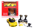 U Smile King Speed Rechargeable Car, yellow